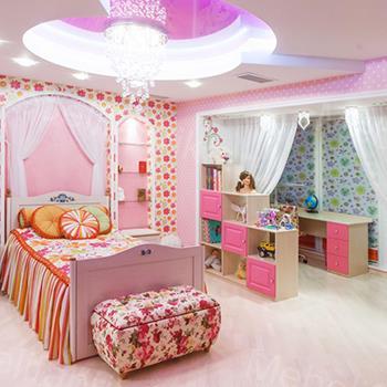 интересная дизайнерская мебель для детской