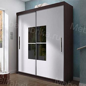 стильные двери для шкафа купе