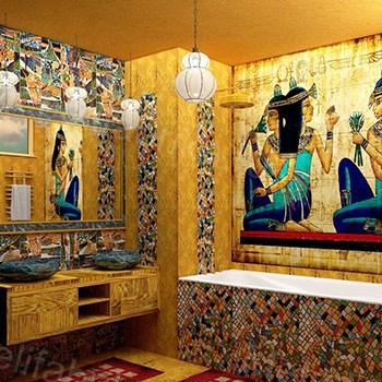 фото египетского стиля в дизайне комнаты