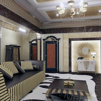 египетский стиль в гостиной