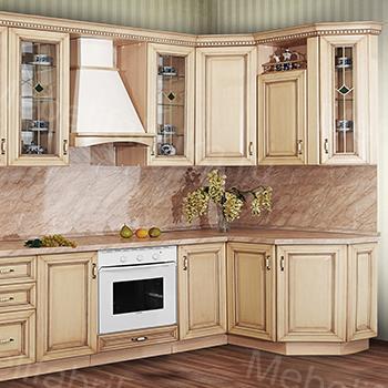 фасад для кухни из массива
