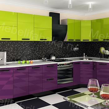 стильное оформление фасада для кухни
