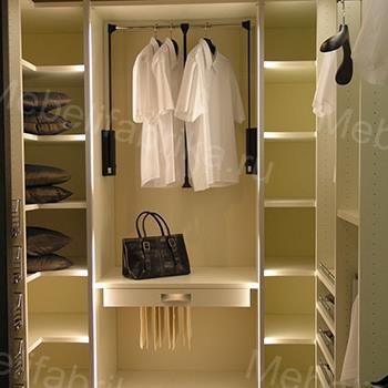 фото мебели для гардеробных комнат