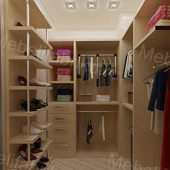 производство гардеробных под заказ