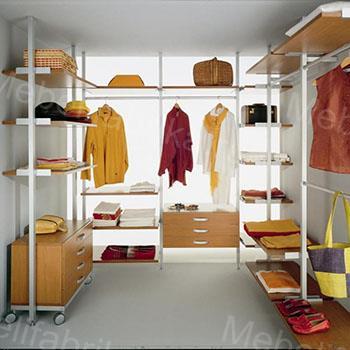 стиьные гардеробные комнаты