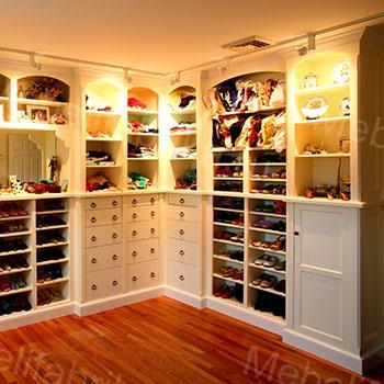 фото гардеробной мебели