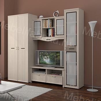 просторная мебель для гостинной