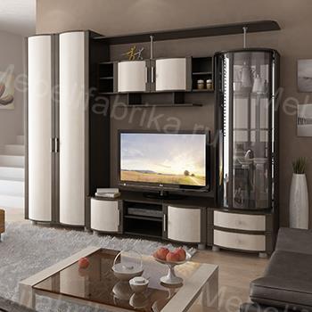 гостинная комната в красивом оформлении
