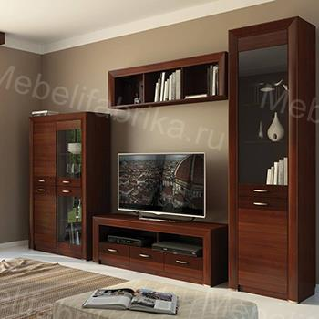 мебель для гостинной в стиле хай тек
