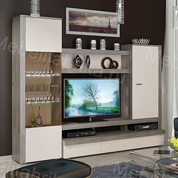 белая мебель для гостинной