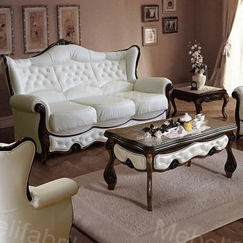 кожаная мебель для гостиной
