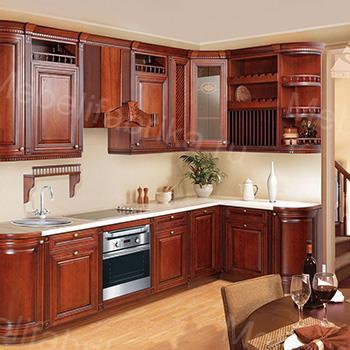 фото кухни из массива