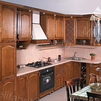 дизайн мебели для кухни из массива