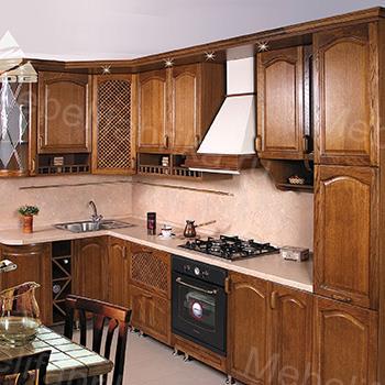 современная кухня из массива