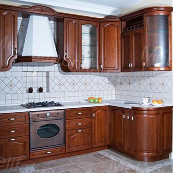 угловая кухня из массива