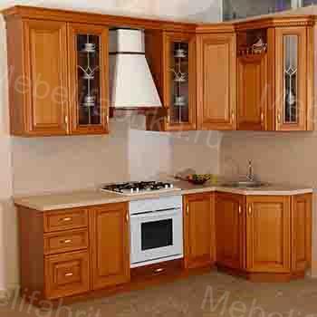 дизайн мебели для кухни из шпона