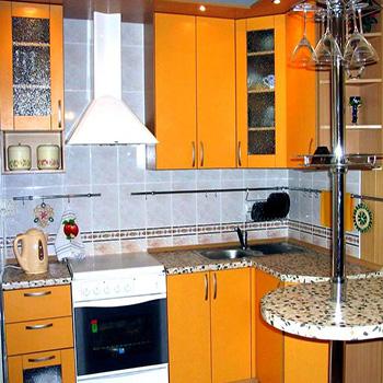 современные кухонные гарнитуры из лдсп