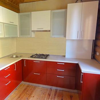 фото белой кухни из лдсп
