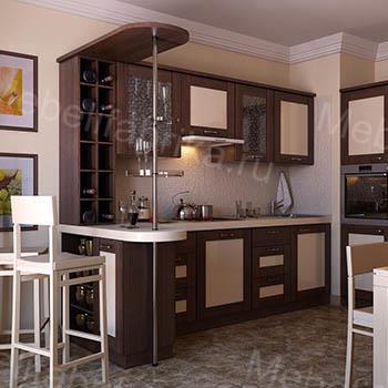 угловые кухни с пластиковыми фасадами