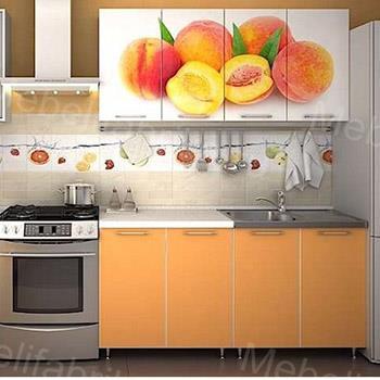 дизайн кухни с фотопечатью
