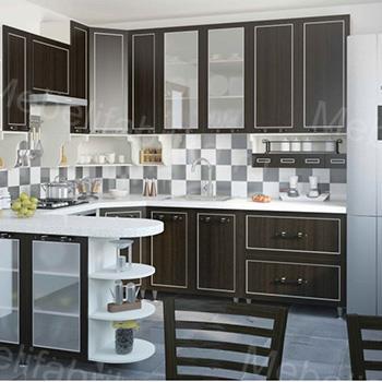 дизайн мебели для кухни с рамочными фасадами
