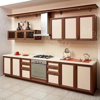 дизайн кухни с рамочными фасадами