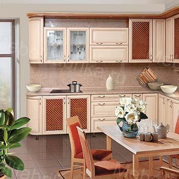 фото кухонного гарнитура с рамочными фасадами