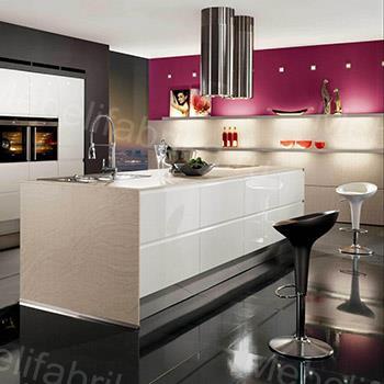 мебель для кухни в стиле хай-тек