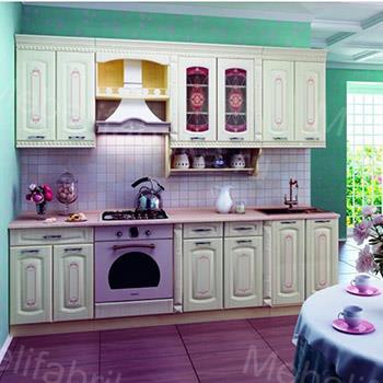 яркая кухоннная мебель