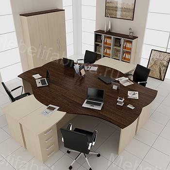 красивая офисная мебель
