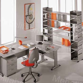 интерьер мебели из металла