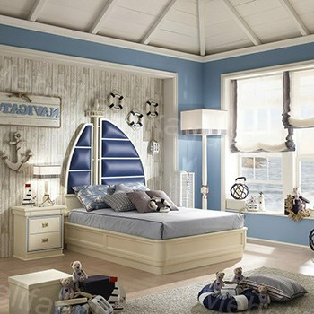 морской стиль в оформлении комнаты