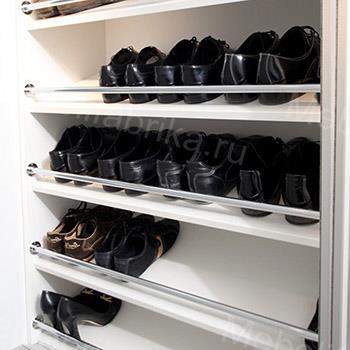 просторное наполнение для шкафов купе