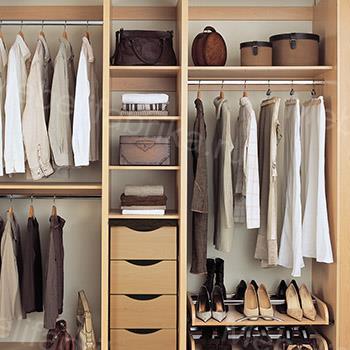 внутренняя комплектация шкафа-купе