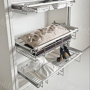 внутреннее наполнение для обуви в шкафу купе