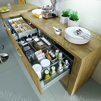 стильное внутреннее наполнение для кухни
