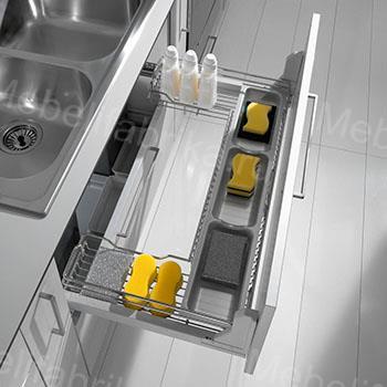оформление внутреннего наполнения кухни