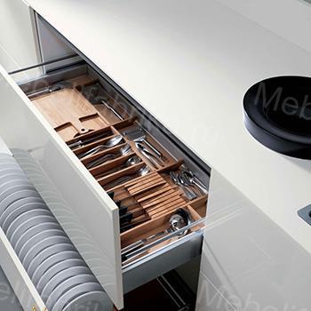 внутреннее наполнение шкафов для кухни