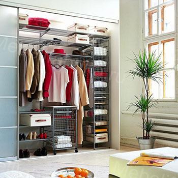 стильное внутреннее наполнение шкафов
