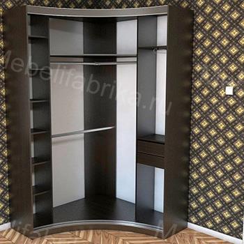 внутреннее наполнение шкафов купе в стиле модерн