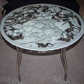 мебель с пескоструйным рисунком