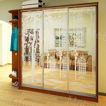 мебель для гостинной с пескоструйным рисунком