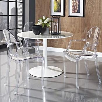 фото прозрачных стульев