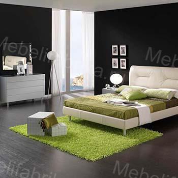 спальня в стильном оформлении