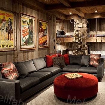 стиль вестрн в дизайне мебели